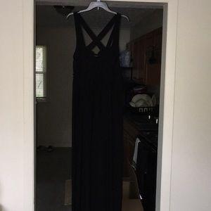 Torrid stretch maxi dress
